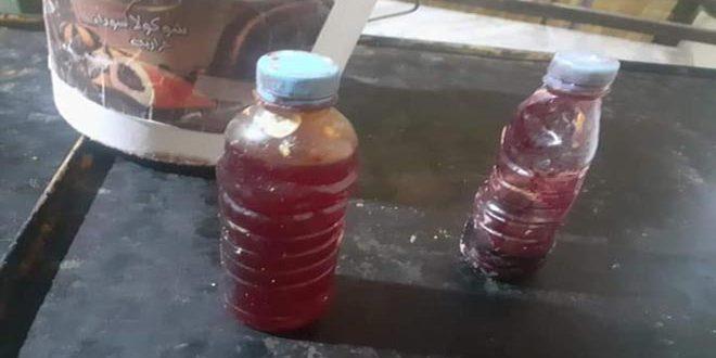 ضبط معمل للحلويات في درعا يستخدم ملونات صناعية مجهولة المصدر والصلاحية