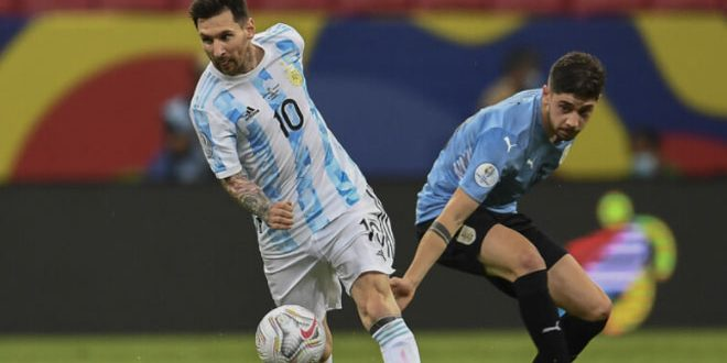 الأرجنتين تفوز على الأوروغواي في بطولة كوبا أمريكا