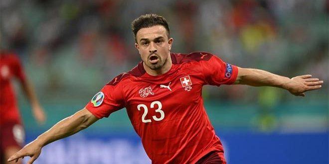 سويسرا تفوز على تركيا بثلاثية في يورو 2020