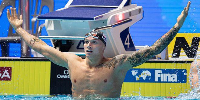 الأمريكي دريسل يفوز بذهبية سباق 100 متر حرة في أولمبياد طوكيو