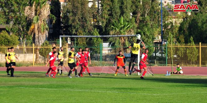 فوز منتخب شباب سورية لكرة القدم على رجال العربي ودياً