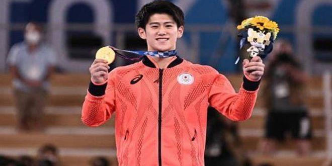 الياباني هاشيموتو يفوز بذهبية الجمباز في أولمبياد طوكيو 2020