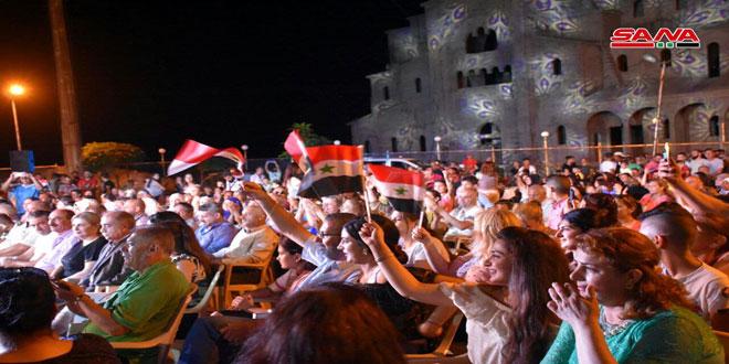 فعاليات فنية ورياضية وتكريم جرحى الجيش في اليوم الثالث لمهرجان القلعة والوادي
