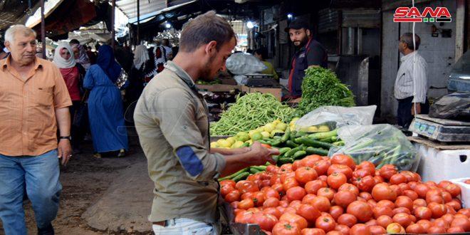 ضبوط صحية بحق فعاليات مخالفة في أسواق الحسكة