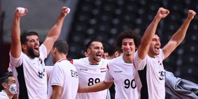 منتخب مصر لكرة اليد يتأهل رسمياً إلى ربع نهائي أولمبياد طوكيو