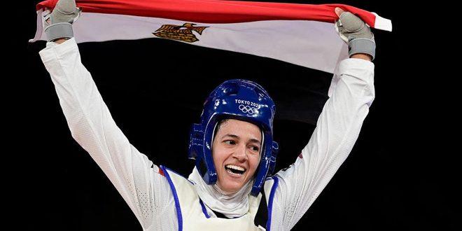 المصرية ملاك تحرز برونزية بالتايكوندو في أولمبياد طوكيو
