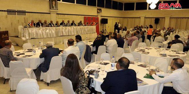 انطلاق أعمال ملتقى الساحل الاقتصادي في اللاذقية