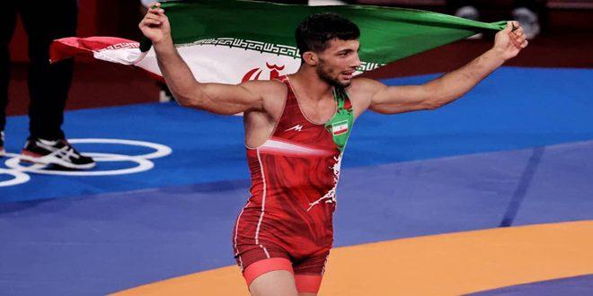 إيران تنال ذهبية المصارعة الرومانية في أولمبياد طوكيو