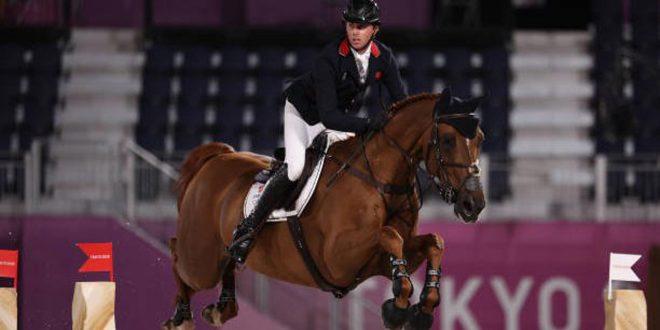 البريطاني بن ماهر يحرز ذهبية ضمن منافسات الفروسية ف أولمبياد طوكيو