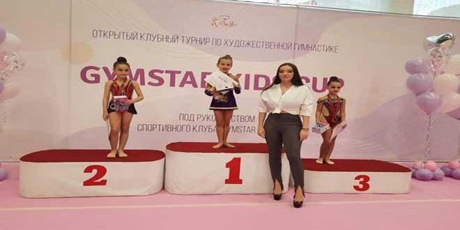 منتخب سورية للجمباز للصغيرات يتألق في موسكو
