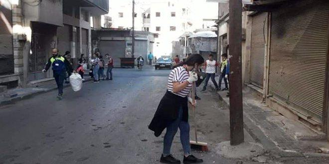 معاً نستطيع… مبادرة أهلية لتنظيف وتجميل حمص القديمة
