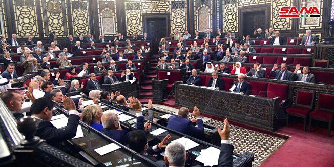 مجلس الشعب يتابع مناقشة مشروع قانون الطاقات المتجددة ويقر عدداً من المشاريع