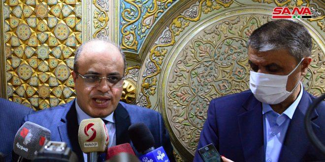 الخليل: الاجتماعات السورية الأردنية أفضت إلى إجراءات تخدم قضايا ثنائية