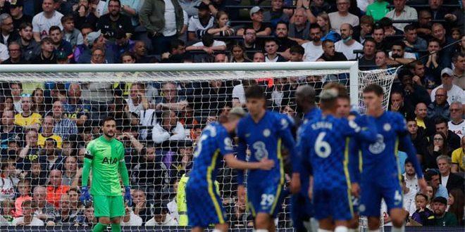 تشيلسي يفوز على توتنهام بثلاثية في الدوري الإنكليزي الممتاز