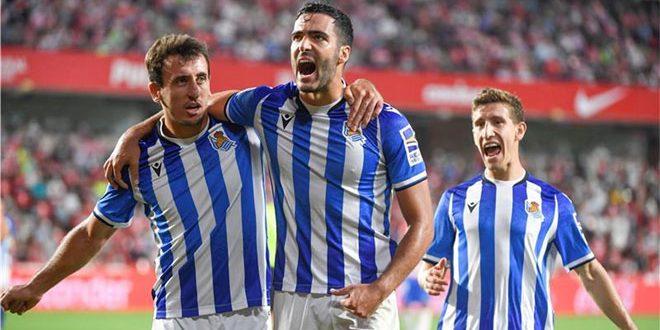 سوسيداد يهزم غرناطة في الدوري الإسباني