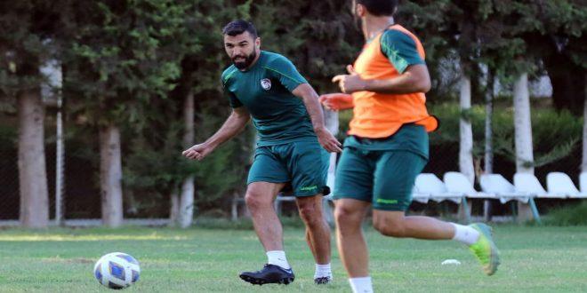 معسكر محلي لمنتخب سورية بكرة القدم