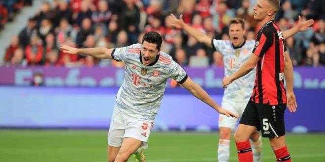 بايرن ميونخ يتغلب على باير ليفركوزن في الدوري الألماني