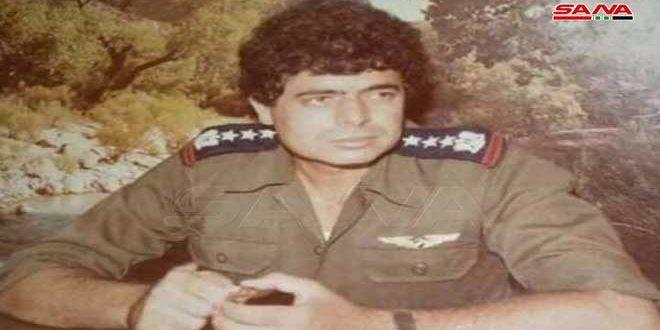 وفاة الطيار أديب الجرف بطل حرب تشرين التحريرية الذي أسقط 7 طائرات للعدو الإسرائيلي
