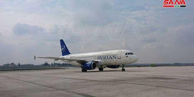 إلغاء رحلة الخطوط الجوية السورية إلى الخرطوم الجمعة المقبل