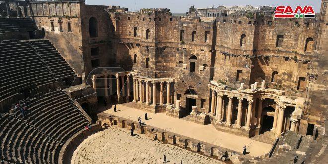 موقع تشيكي: مسرح بصرى من أفضل الأبنية الأثرية في الشرق الأوسط