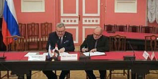 اتفاقية تعاون علمي بين جامعتي دمشق وموسكو الحكومية التربوية