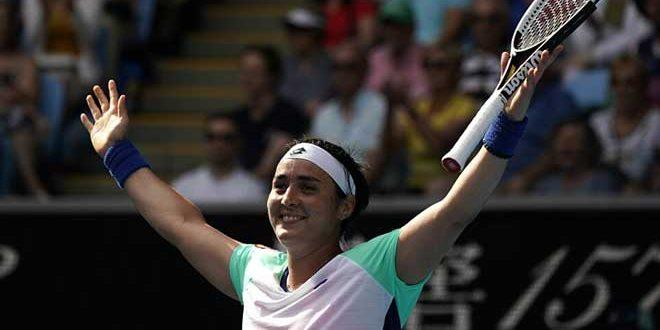 جابر أول لاعبة تنس عربية بين عشر مصنفات على العالم