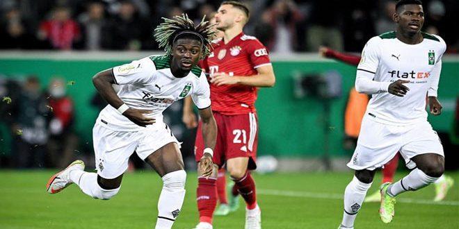 مونشنجلادباخ يسحق بايرن ميونيخ بخماسية في كأس ألمانيا