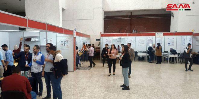 (العمل لبناء سورية الأمل).. معرض لمشاريع تخرج وأبحاث متميزة