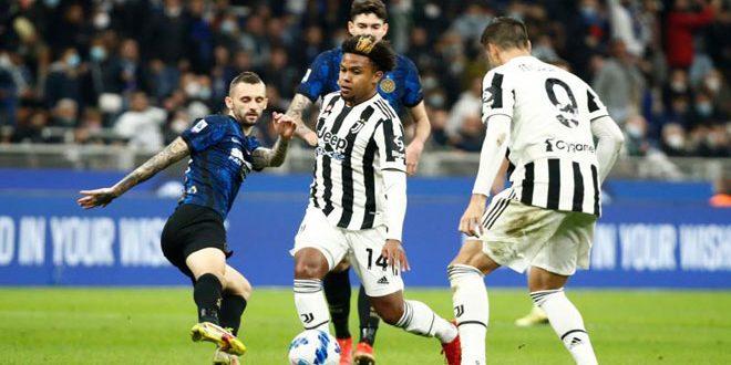 تعادل يوفنتوس وإنتر ميلان في الدوري الإيطالي