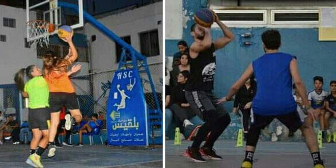 اختتام بطولة ثلاثة ضرب ثلاثة المفتوحة بكرة السلة في اللاذقية