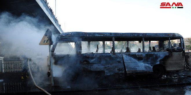 السوريون في أوروبا: التفجير الإرهابي دليل إفلاس أعداء سورية