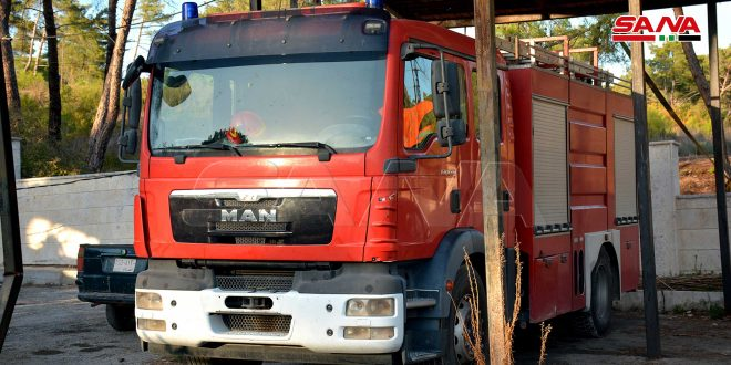 بجهود الإطفاء والأهالي.. انخفاض عدد الحرائق في اللاذقية