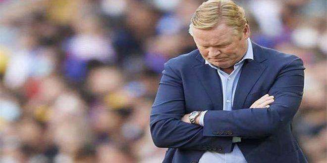إقالة كومان تكلف برشلونة 18 مليون يورو