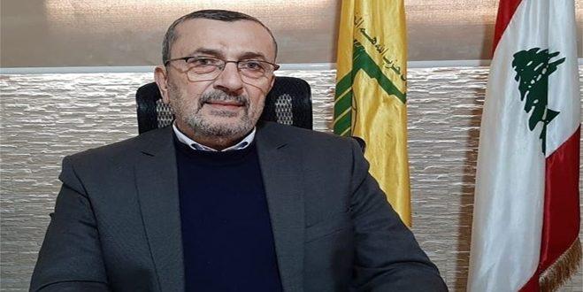 عز الدين: مصلحة لبنان تتحقق بإقامة علاقات مميزة مع سورية