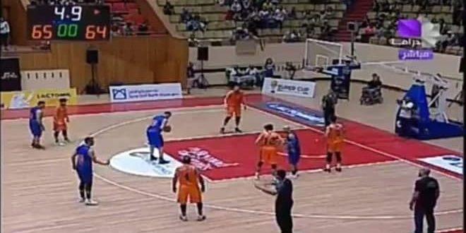 بفارق نقطة.. الكرامة يتفوق على الوحدة في افتتاح بطولة السوبر بكرة السلة للرجال