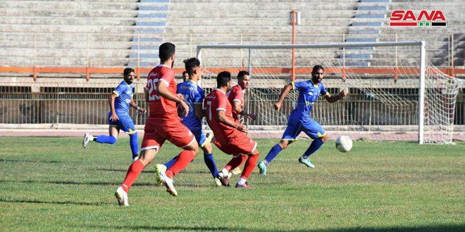 فوز الجيش والاتحاد والوحدة وتشرين وجبلة في دوري الشباب لكرة القدم