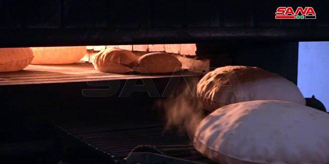 افتتاح مخبز بطاقة 1.5 طن بريف دير الزور الشرقي